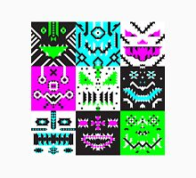 square monster pattern punk Unisex T-Shirt