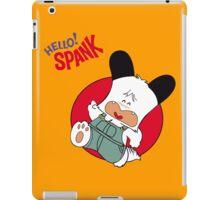 Hello Spank! iPad Case/Skin