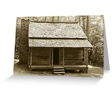 John Ownby's Cabin II Greeting Card