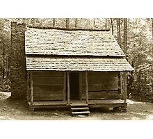 John Ownby's Cabin II Photographic Print
