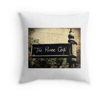 The River Café Throw Pillow
