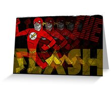 The Fastest Man Alive! Greeting Card