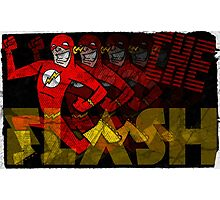The Fastest Man Alive! Photographic Print