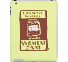 Wombat Jam iPad Case/Skin