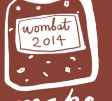 Wombat Jam Sticker
