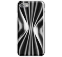 Psychmaster Space Waves 101 BW iPhone Case/Skin