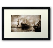 Titanic the Ship of Dreams Framed Print