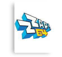 ZZap64 Canvas Print