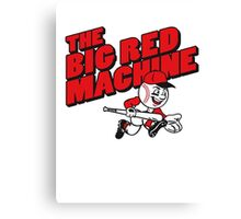 The Big Red Machine Canvas Print