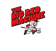 The Big Red Machine Photographic Print