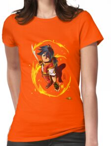 HEART OF WILDFIRE - Sahn Lamarey Womens Fitted T-Shirt
