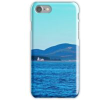 Maine - Lighthouse and Cadillac Mountain iPhone Case/Skin