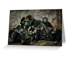 monkey madness Greeting Card