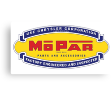 Old MoPar logo Canvas Print