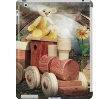 Little woodpecker what have you done ? iPad Case/Skin