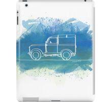 Land Rover Series II - Single Line iPad Case/Skin