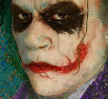 Van Gogh's Joker Sticker