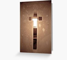 Tomb Door Greeting Card