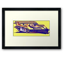 917/30 Abstract Version Framed Print