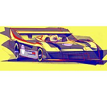 917/30 Abstract Version Photographic Print