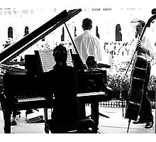 Music from Venice Photographic Print