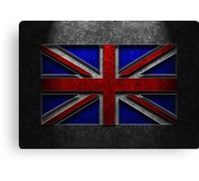 Union Jack Stone Texture Canvas Print