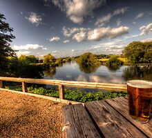 a pint with a view by Rob Hawkins