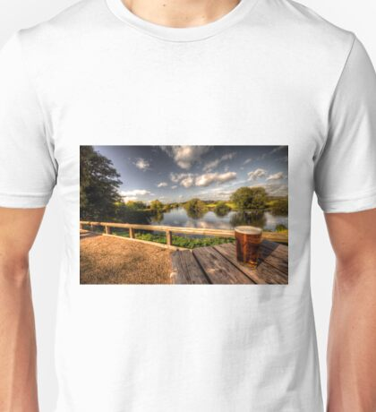 a pint with a view Unisex T-Shirt