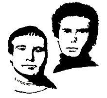 Simon and Garfunkel Photographic Print