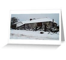 Thelbridge Cross Inn Greeting Card