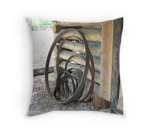 Wheel Hoops Throw Pillow