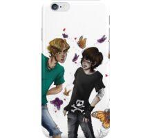 Skeleton Butterflies iPhone Case/Skin
