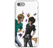 Skeleton Butterflies iPhone Case/Skin