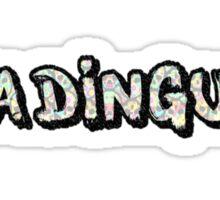 Ya Dingus Flor Muerta Variant by SmashBam Sticker