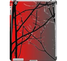Red And Gray iPad Case/Skin