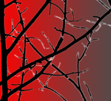 Red And Gray Sticker