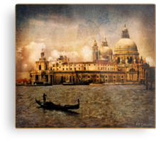 Painted Venice Metal Print
