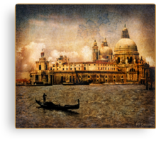 Painted Venice Canvas Print