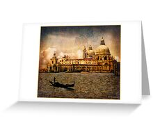 Painted Venice Greeting Card