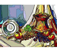 Still Life With Copper Cup Photographic Print