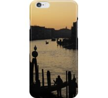 The Grand Canal in Venice at Dusk iPhone Case/Skin