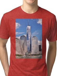 One World Trade Center Tri-blend T-Shirt