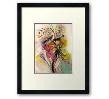 The Splash Of Life. Composition 3 Framed Print