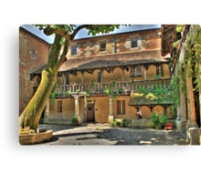 Bergerac France  The Winery . Canvas Print