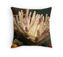 French lunch 2 Throw Pillow
