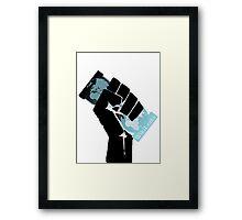 WikiLeaks Revolution Framed Print