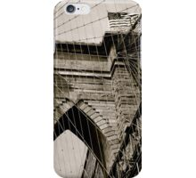 The Historic Brooklyn Bridge iPhone Case/Skin