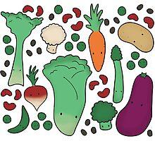Veggie Delight Photographic Print