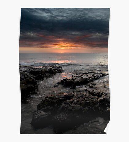 Northumbrian Sunrise Poster