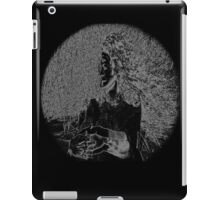 Psychmaster Depression Woman BW iPad Case/Skin